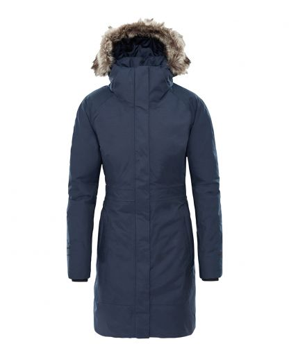 huge inventory 05407 3cac9 The North Face - Arctic Parka II Women damparkas - Urban Navy