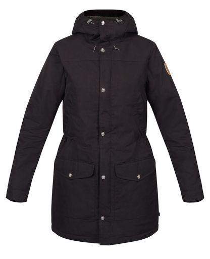 909878d14fa8 Fjällräven - Greenland Winter Parka W damjacka - Black/dark Grey