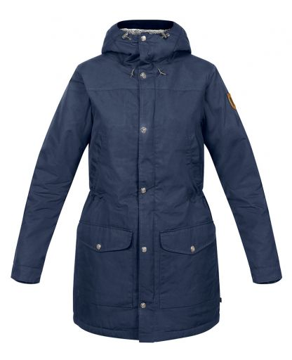 796111cac5a4 Fjällräven - Greenland Winter Parka W damjacka - Night Sky/Dark Grey