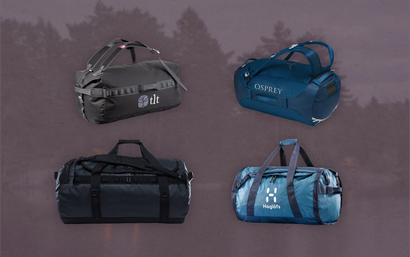 Fyra bud på din nästa duffelbag   De bästa duffelväskorna 2021