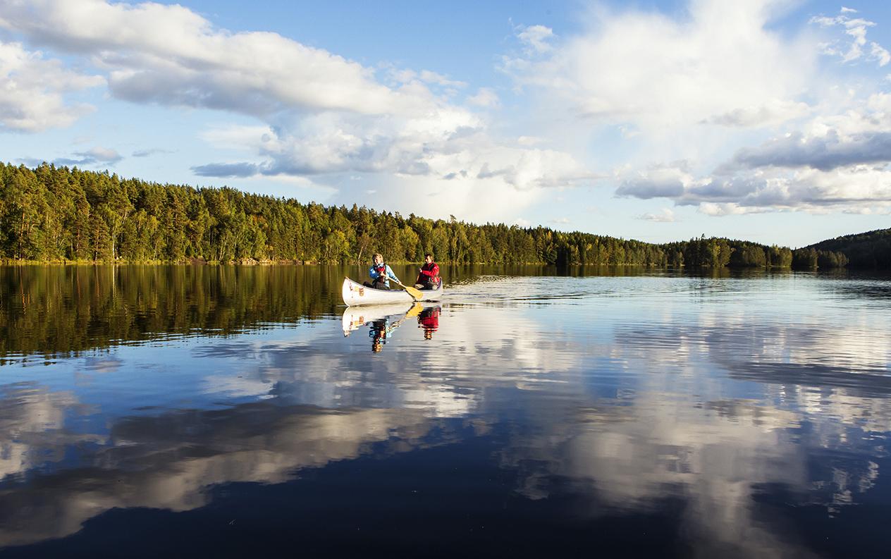 6 kanotturer i Sverige