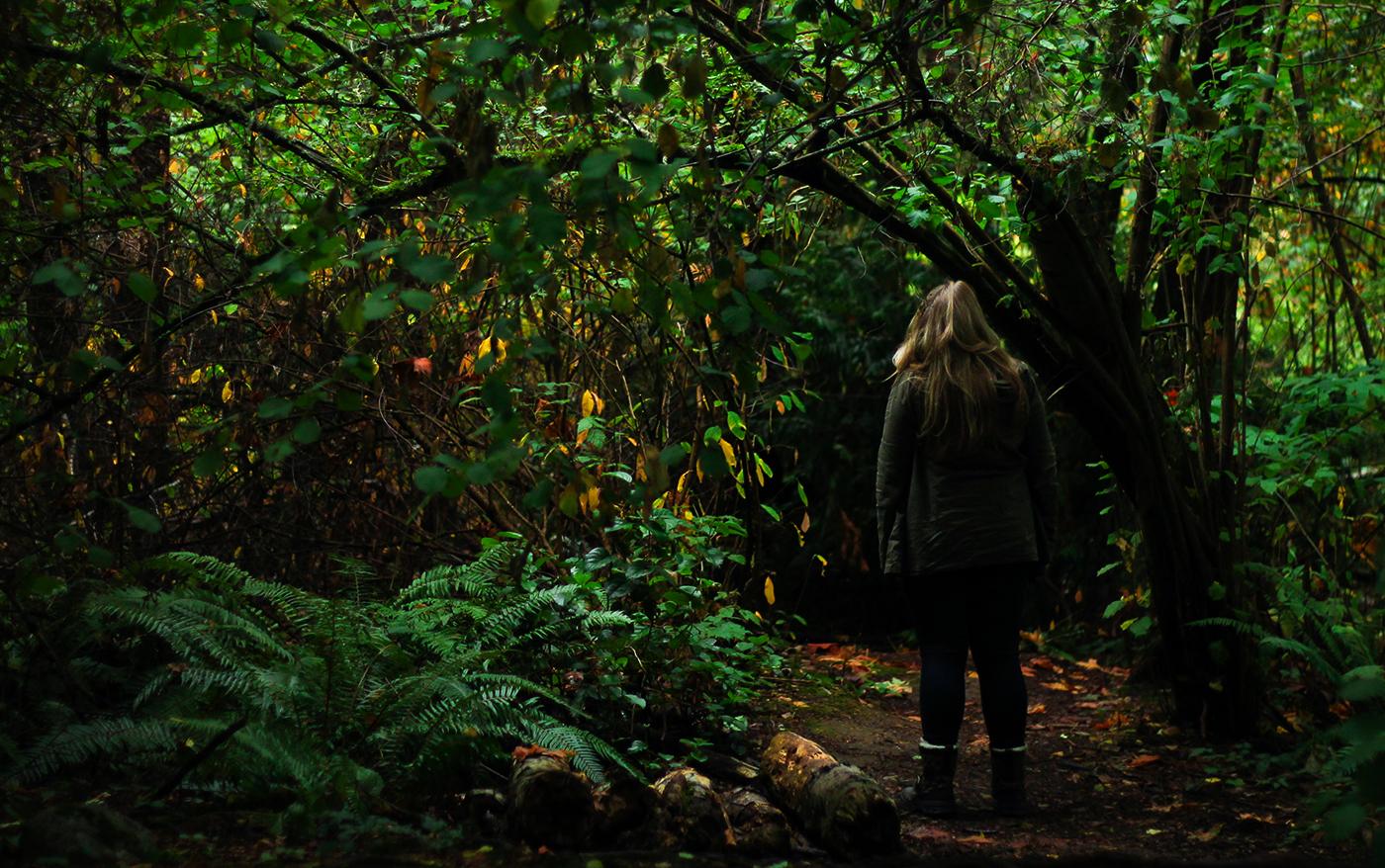 Bada i skogens djupa, tysta lugn - och bli friskare | Skogsbad