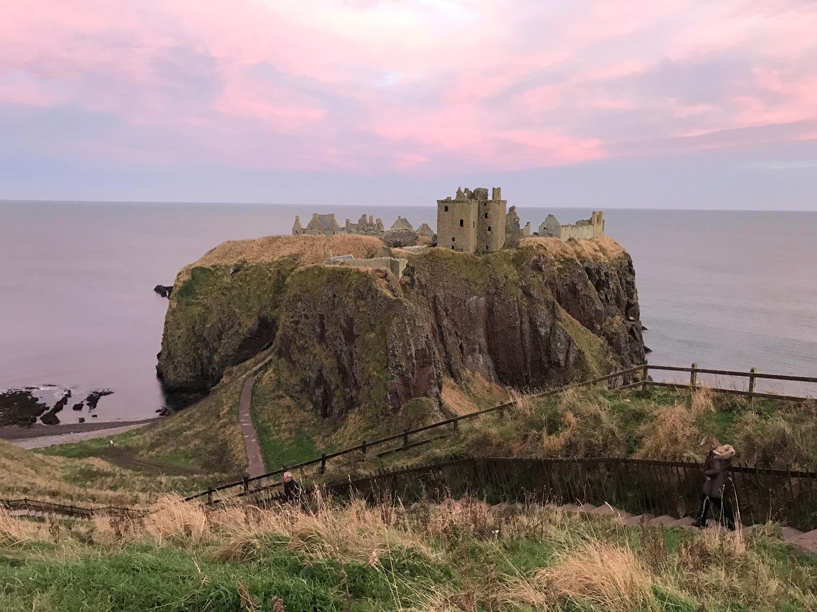 Borgruin i Skotland