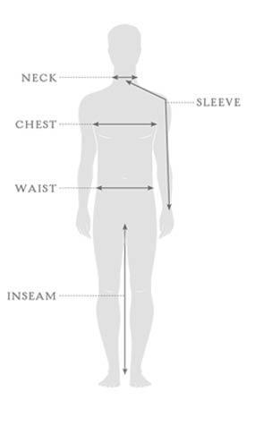 Størrelsesguide - Sherpa - tøj - herrer