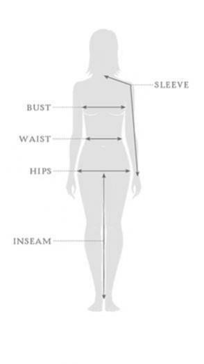 Størrelsesguide - Sherpa - tøj - damer